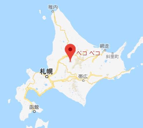 地図:ペコペコ (PECOPECO)