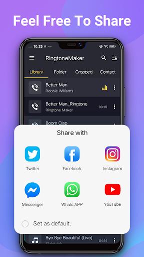 Ringtone Maker - Mp3 Editor & Music Cutter 2.5.7 screenshots 7