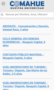 Comahue  Nuestra Universidad- screenshot thumbnail
