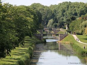 Photo: Enfilade de 7 ponts à Briare