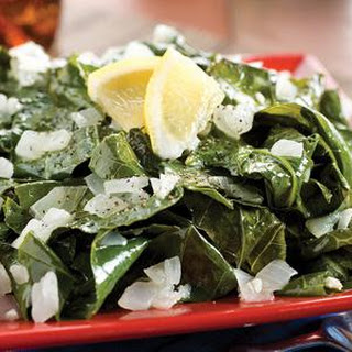 Steamed Collard Greens