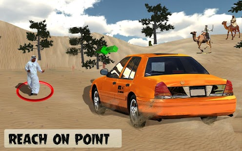 Crazy Desert Taxi Jeep Driving Mania 3D (Unrelease - náhled
