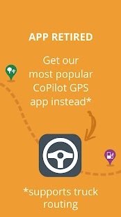 CoPilot Truck USA & CAN - GPS Screenshot