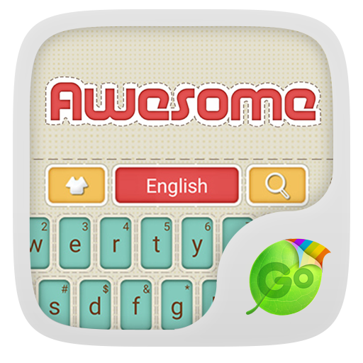Awesome GO Keyboard Theme