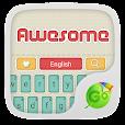Awesome GO Keyboard Theme