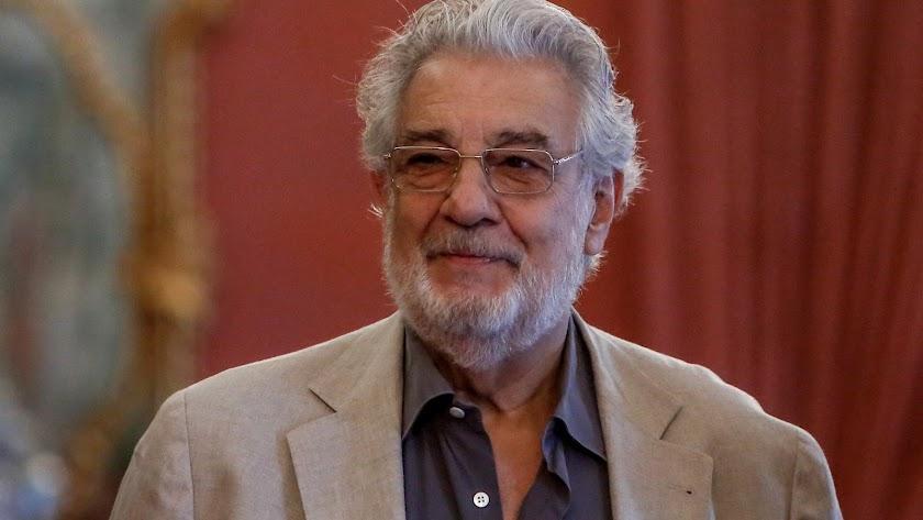 El cantante y director de ópera Plácido Domingo.