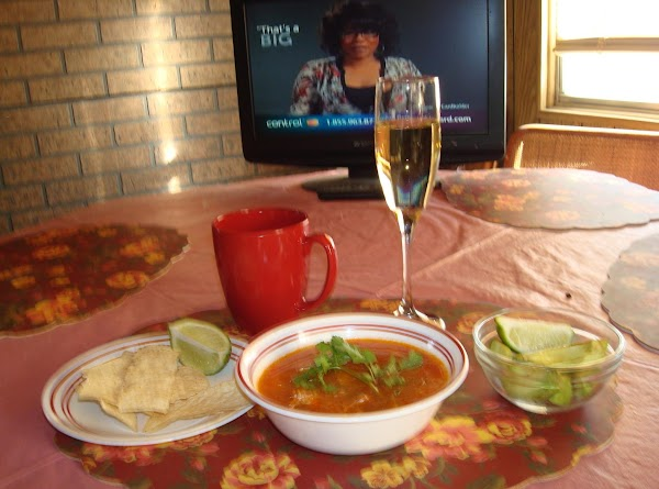 Mexican Chicken Soup W-lime Recipe