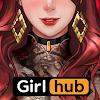 걸허브 (GirlHub) 대표 아이콘 :: 게볼루션