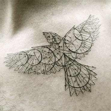 Best geometric tattoos designs Ideas