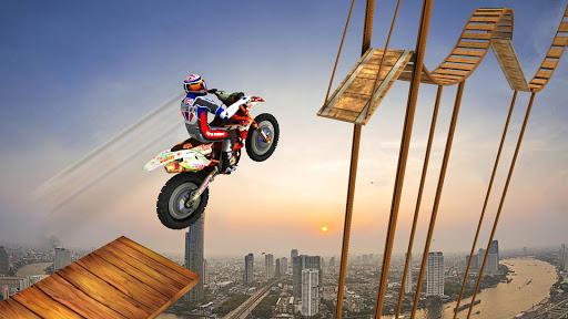 Crazy Bike Racing Stunt 3D 1.1 screenshots 1