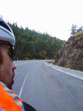 Photo: Attempted to photo his breath at 4 degrees at the top of the pass....