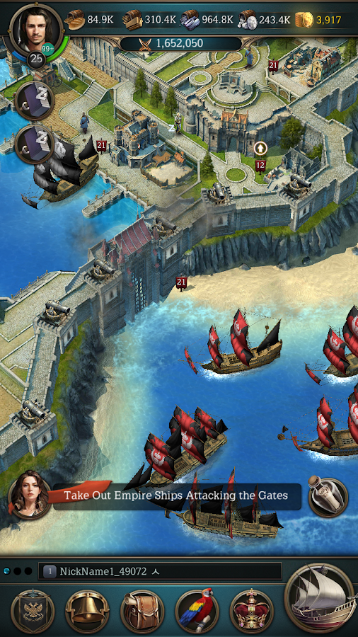 Oceans & Empires- screenshot