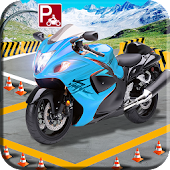Bike Parking Game : Motorbike Parking Simulator