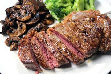 Peppercorn Kc Strip Steak Recipe
