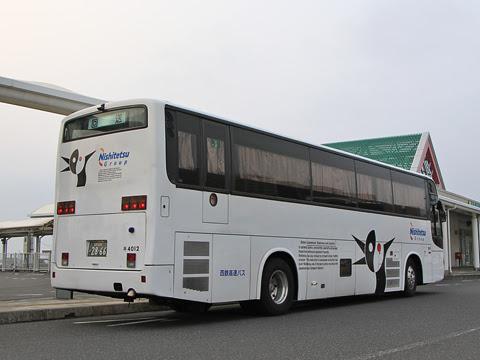 西鉄高速バス「桜島号」 4012 リア