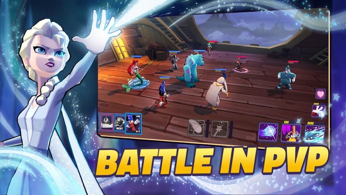 Disney Sorcerer's Arena Android App Screenshot