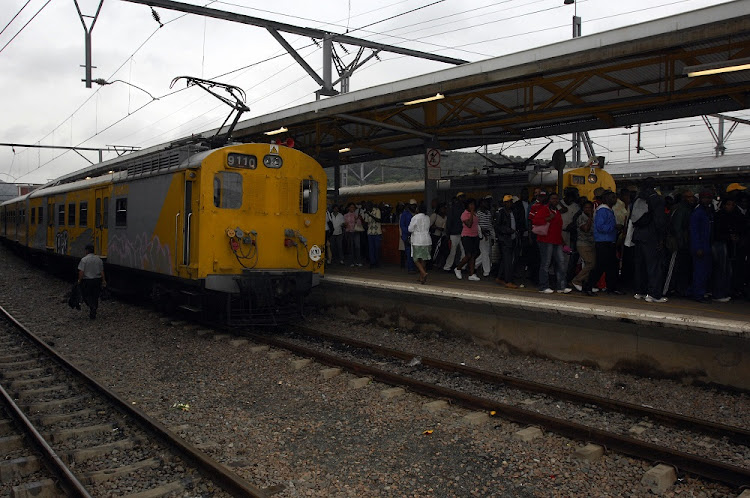 Metrorail trains between Soweto and Johannesburg are not running this morning.
