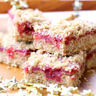 Cranberry Sauce Oatmeal Bars Recipe