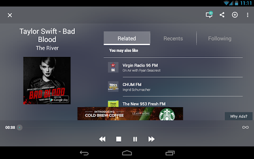 TuneIn Radio - Radio & Music Screenshot 13