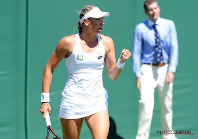 Yanina Wickmayer et Kimberley Zimmermann franchissent le premier tour au tournoi de Shrewsbury