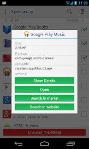 System app remover (root needed) 7.1 Mod + Data for Android 3
