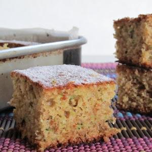 Marmalade and Zucchini Cake