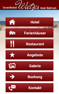 Strandhotel Wietjes Baltrum- screenshot thumbnail
