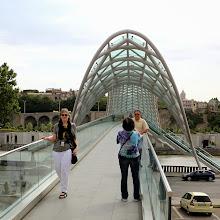 Photo: Turistit tunkevat joka kuvaan - tässä Rauhan silta vähän tarkemmin