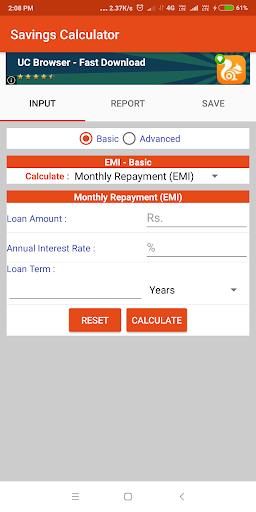 Savings Calculator : EMI Pro  screenshots 4
