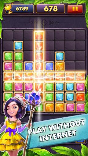 Block Puzzle Gems Classic 1010 apkmind screenshots 2