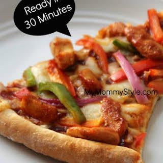 Homemade Pizza Crust.