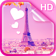 Sweet Paris Live Wallpaper HD Icon