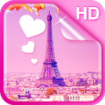 Sweet Paris Live Wallpaper HD Icon