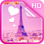 Sweet Paris Live Wallpaper HD
