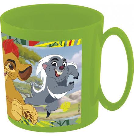 Lejonvakten plastmugg