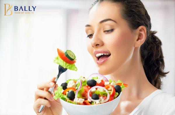 cách giảm mỡ đùi nhanh nhất trong 1 tuần bằng ăn kiêng