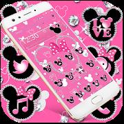 Pink Diamond Minnie theme