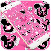 Pink Diamond Minnie theme