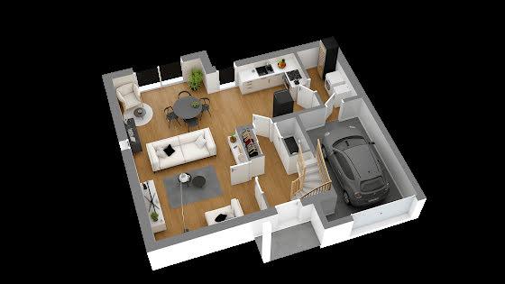 Vente maison 4 pièces 84,59 m2
