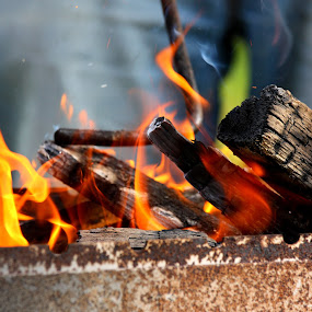 fire by Oleg Verjovkin - Abstract Fire & Fireworks ( latvia, fire )