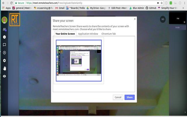 RemoteTeachers Screen Share