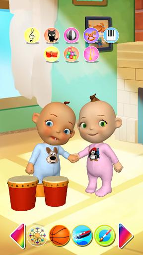 Talking Baby Twins Newborn Fun  screenshots 1
