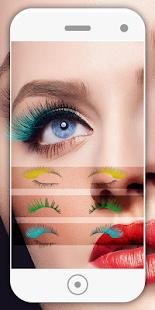 Eyelashes photo Editor 2018 - náhled