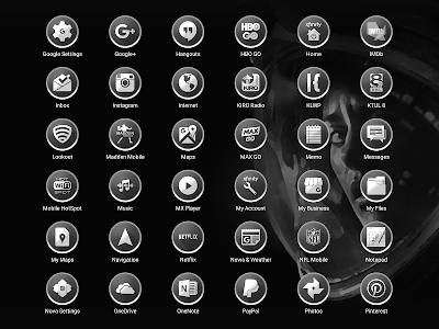 Enyo Gray - Icon Pack screenshot 12