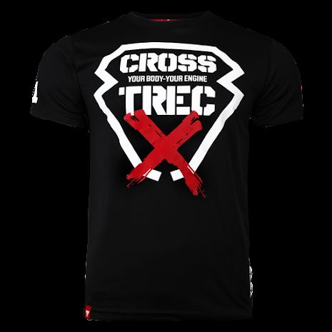 Trec T-shirt Black Cross - Medium