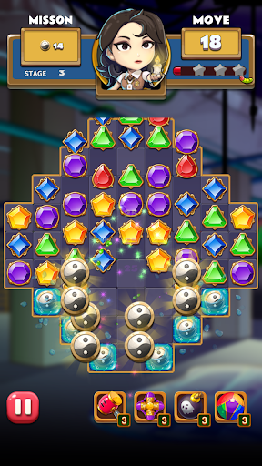 The Coma: Jewel Match 3 Puzzle  screenshots 15