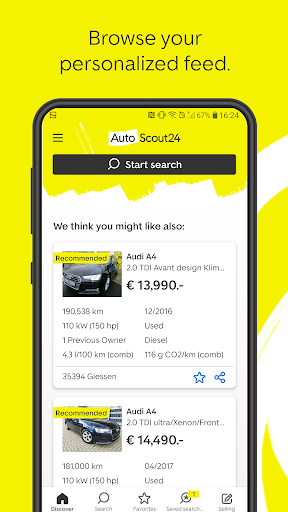 AutoScout24 - used car finder  screenshots 2