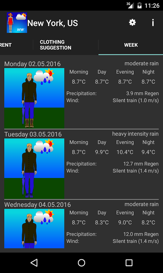 Weather-Proof Clothing- screenshot