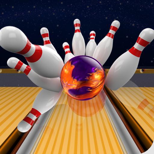 体育竞技のボウリング3Dゴールドのマニア LOGO-HotApp4Game