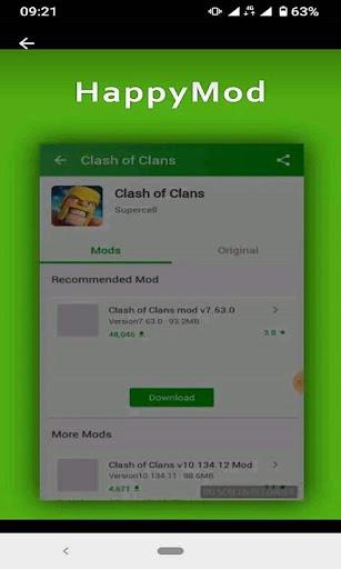 HappyMod Apps screenshot 3